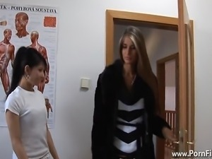 Another clip from Nessa Devil where she have fun with her friend Victoria...