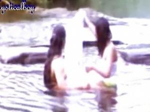 Mallu lesbian at river