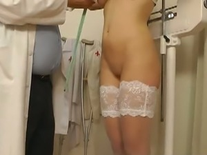 Perverted doctor and his spycam