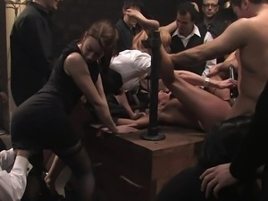 Anal Group Humiliation