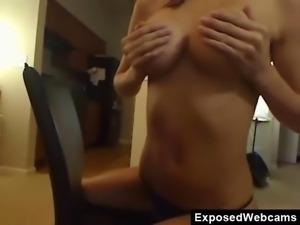 Incredible Rack On Webcam Babe