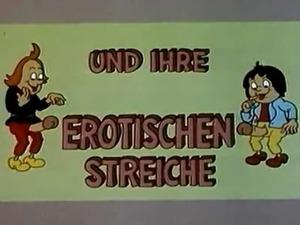 Ein kleiner Cartoon �ber Max und Moritz erotischen Streiche....