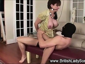 Mature stockinged british Lady Sonia