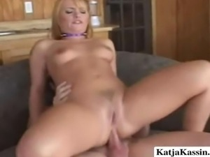 Playful hooker riding a hard dick with her tight ass