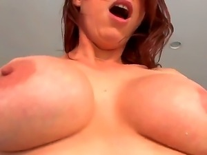 Man has unforgettable screw with very sinful and sex appeal redhead milf...