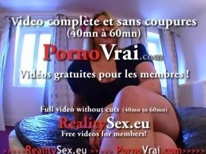 Cougar a gros seins en manque de sexe ! French amat
