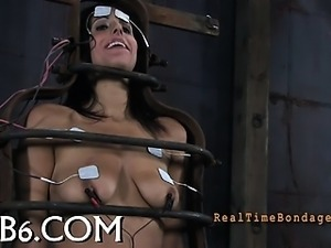 Sexy whipping for beauty's ass