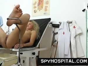 A hidden cam trap at gyno clinic