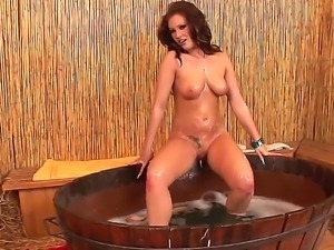 See this scene with adorable gall having nice solo masturbation. The beauty...