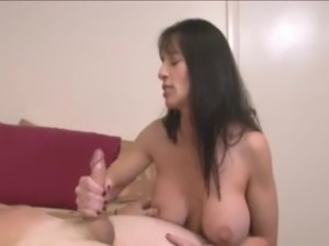 Big Boobs stepmom brings Fun