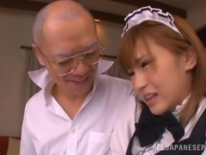 nippon maid get's dirty