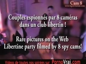 Camera espion en soiree privee ! French spycam153