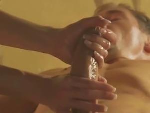 Exotic blonde milf ystrokes cock