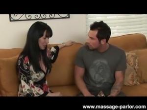 Asian Teen Massage Girl Begs for Cum