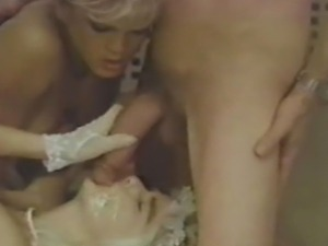 John Holmes takes the Roman Empress to the home of babe Amber Lynn for a hot...