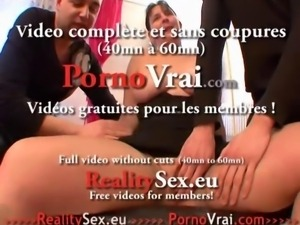 Grosse salope sodomie anal ! Squirt French amateur