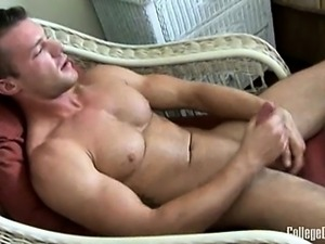 Logan Holmes showed up for a jerk-off video while we were