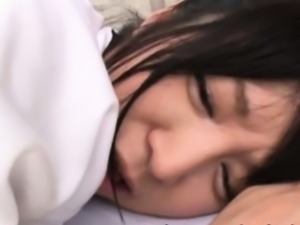 Asian schoolbabe getting ass fingered