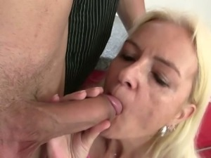 Skinny mother in law wants young cock in her slit