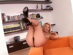 Lana S is amazing blonde with perfect body, natural boobs, firm round ass and...