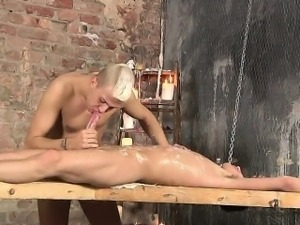 Hung Reece Gets His Long Cock Drained!