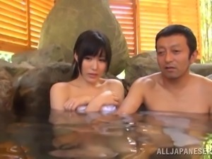 sexy gangbang in the onsen