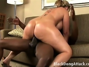 Sara Jay takes a really big black cock