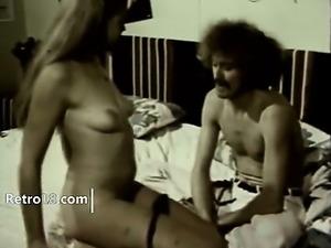 BW retro porn coitus