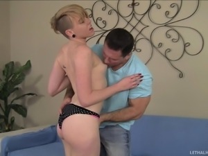 naughty daughter eats her daddy's ass