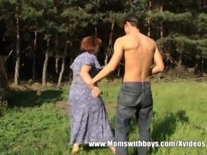 Granny With Huge Ass Gets Boy Hard free