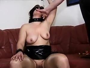 Slave has to masturbate