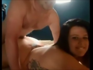 Amateur curvy wife fuck and facial