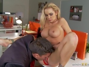 Busty mom Devon believes that Valentines Day is the best time to satisfy her...
