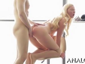 Amorous anal pleasuring
