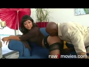 hot babe in interracial casting scene for rawxmovies