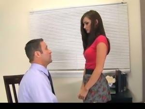 Schoolgirl Seduces Her Teacher