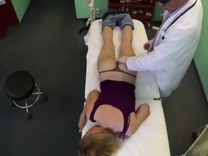 Blonde Gina gets healed by vitamin dick