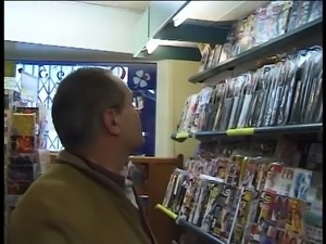 Old Man Fucks Them In Convenience Store