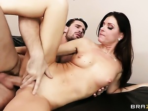 India Summer enjoys sex with her fuck buddy Manuel Ferrara too much to stop