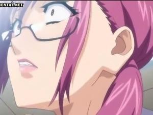 Hentai sucks cocks and gets jizz