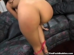skinny hot latina gets rough anal from big dick and loves it when it explodes...