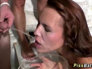 Urine swapping hotties