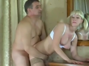 Blonde with pigtails Natali pussy stuffed by Frank