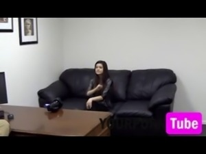 Cutie Casting Teen Anal Creampie