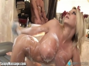 SoapyMassage MILF Madison Ivy Gets Soap Everywhere free