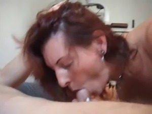 mature milf wife anal creampie on bench