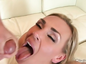 Jack Lawrence attacks dangerously sexy Tanya TateS wet spot with his love...