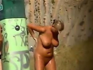Public Nudist Beach Spying