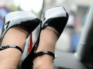 Beautiful Legs And Feet POV