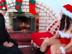 Santa Stripper Stepmom Isis Love Gets Freshly Frosted